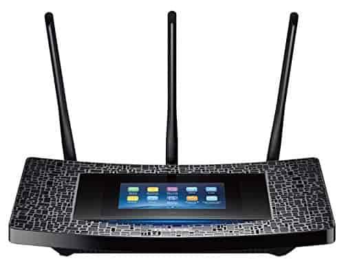 Repetidor Wi-Fi TP-Link con pantalla táctil