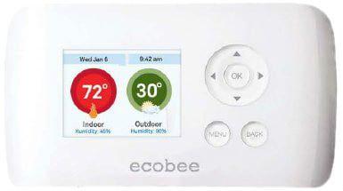Termostato Wifi SmartHeat ecobee